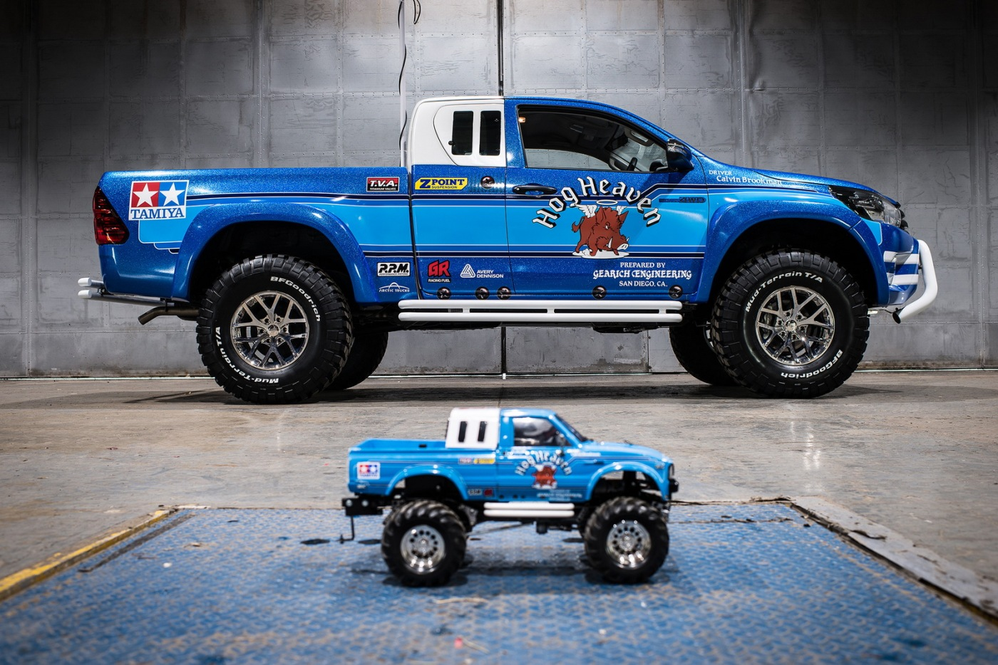 It's called the Hilux Bruiser – Arctic Trucks Newsfeed